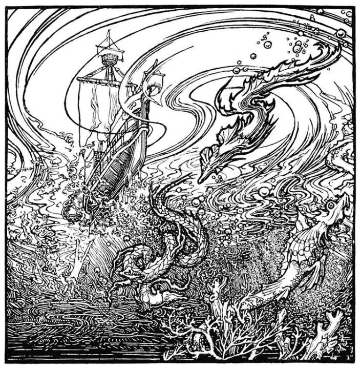 Break the Silence of the Sea, by Gerald Fenwick Metcalfe, from The Poems of Coleridge, 1907